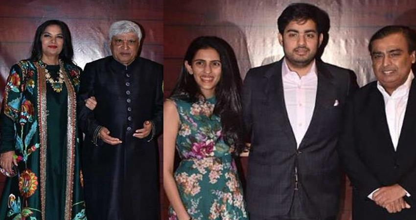 javed akhtar 75th birthday bash pics viral