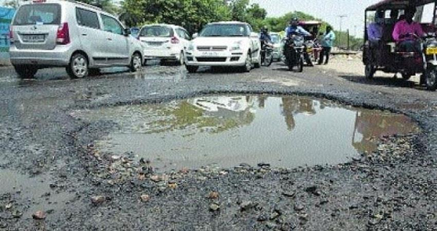 constant deaths in the country due to pits in the roads