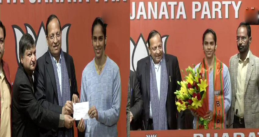 saina nehwall joins bjp