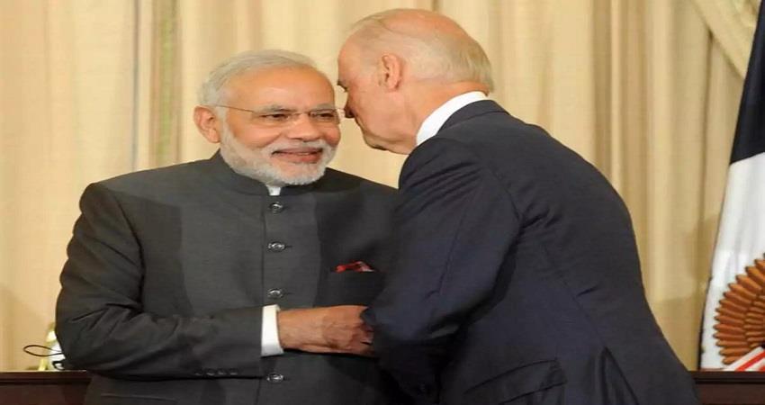 pm narendra modi india joe biden president best wishes sobhnt