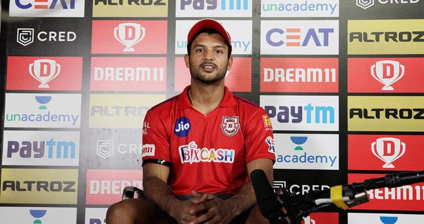 positive atmosphere in dressing room even after loss to rajasthan royals: mayank musrnt