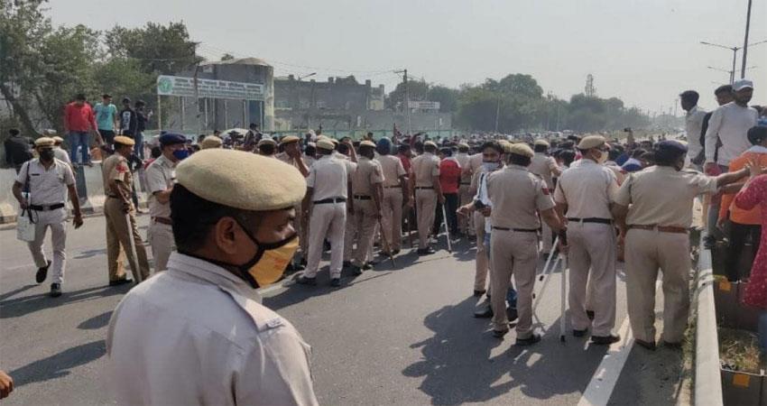 nikita murder case people got angry delhi agra highway jammed albsnt