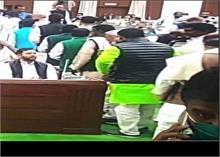 बिहार विधानसभा के स्पीकर चुनाव के दौरान लगे 'जय श्री राम' के नारे, RJD के काम नहीं आया विरोध