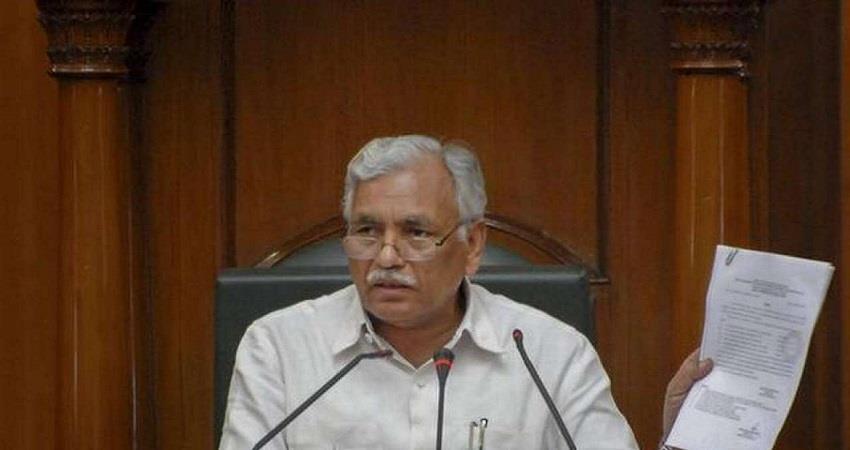 delhi assembly speaker ram niwas goel secretary ajay rawal corona positive kmbsnt