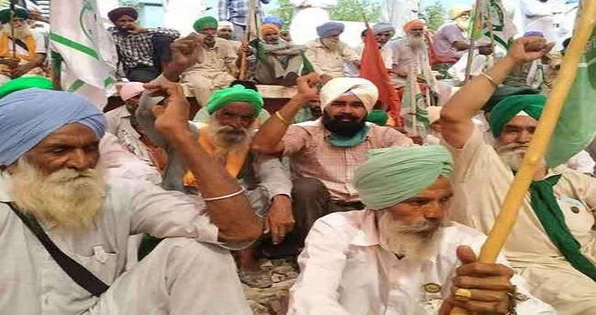 Protest continues in Punjab against agricultural laws sohsnt