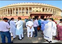 राज्यसभा से Congress का वॉकआउट, आजाद बोले- 8 सदस्यों का निलंबन हो रद्द, नहीं तो करेंगे बहिष्कार