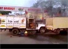 पश्चिम बंगाल में BJP पार्टी में गुटबाजी होने से कार्यकर्ताओं के बीच हुई झड़प, गाड़ियां फूंकी गईं