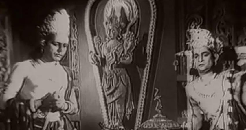 this movie was the first bollywood film based on ramayana