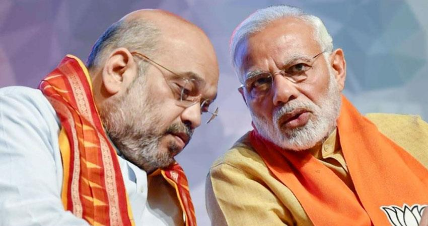 is narendra modi and amit shah influence becoming weak aljwnt