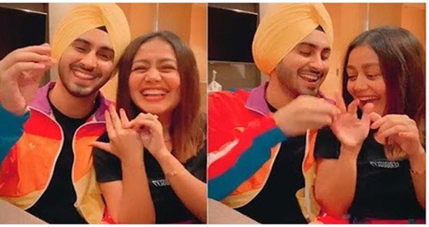 neha kakkar confirms her relationship with rohanpreet singh jsrwnt
