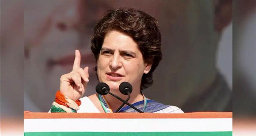 congress-targeted-pm-modi-and-yogi-adityanath-on-priyanka-house-vacate-djsgnt