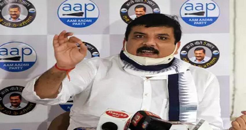 attack on sanjay singh house after ram mandir trust scam expose kmbsnt