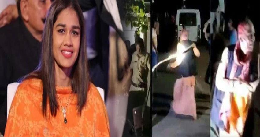 palghar mob lynching babita  phogat question pragnt