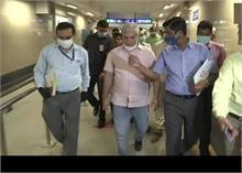 दिल्ली: राजीव चौक स्टेशन का निरीक्षण कर बोले गहलोत- जब तक जरूरी न हो मेट्रो में न करें सफर