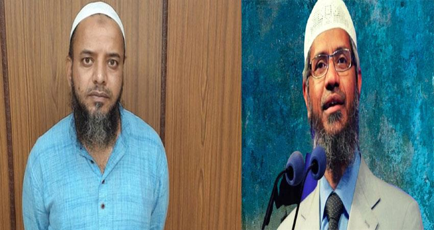 khalid saifi accused of delhi riots met zakir naik musrnt