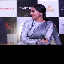नवाजुद्दीन सिद्दीकी और अमृता राव ने दिल्ली में किया फिल्म 'ठाकरे' का प्रमोशन