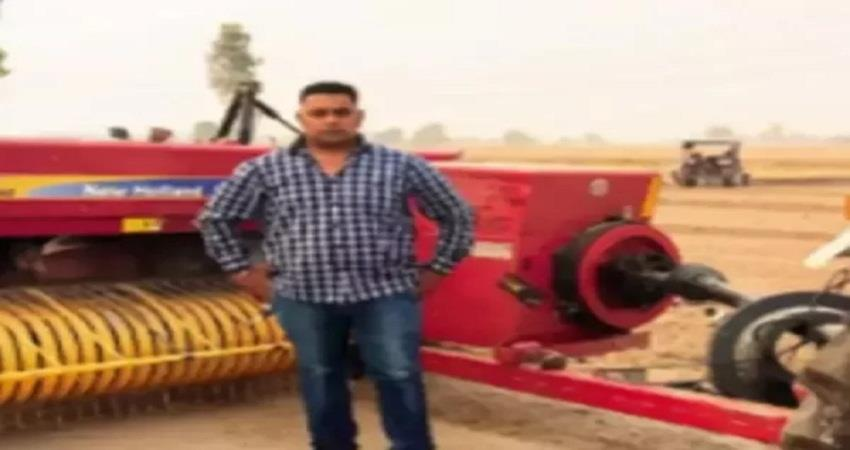a farmer from haryana earns millions with the help of balers sohsnt