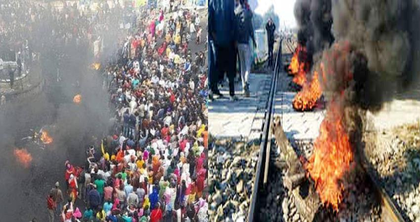 northeast-boils-in-protest-against-cab-trains-as-well-as-flights-canceled