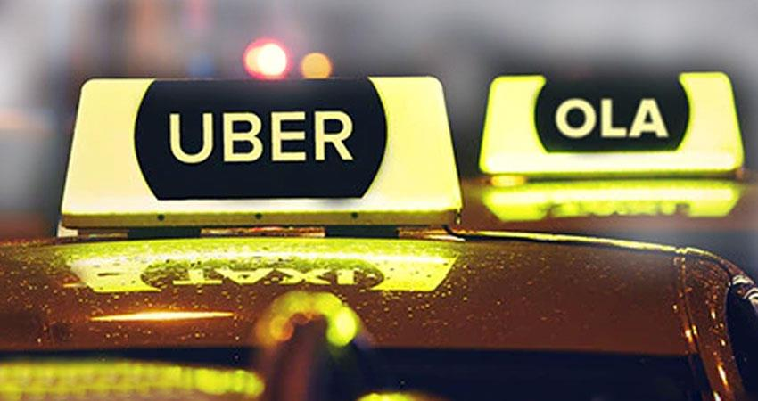 ola uber to stop cab sharing and pool service due to coronavirus