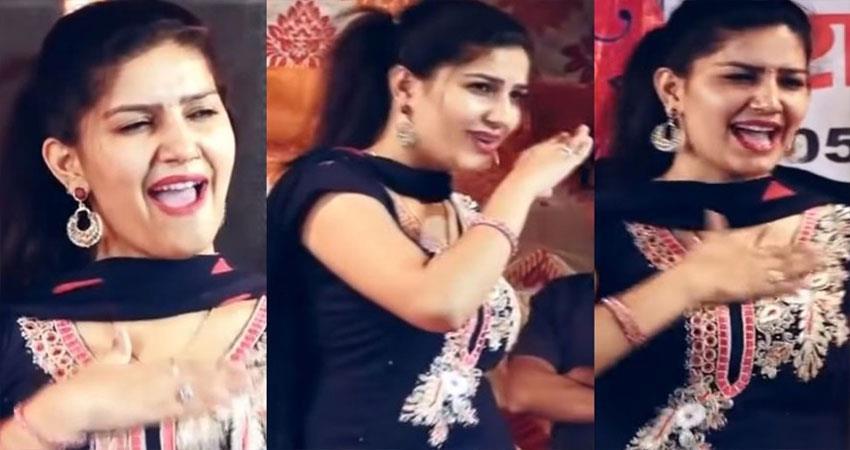 Sapna Choudhary Ghunghat Ki Fatkaar video viral on social media