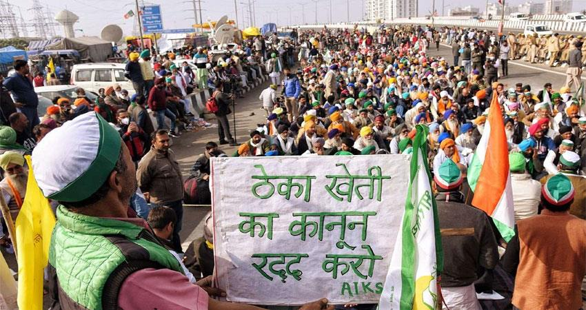 farmers movement completed 9 months