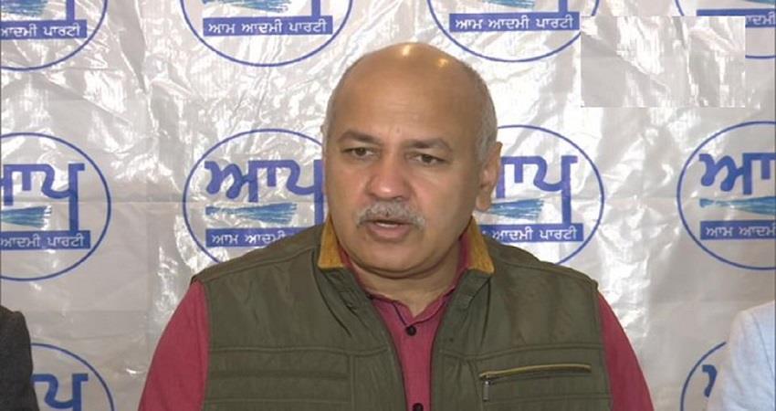 Manish Sisodia at Amritsar Punjab local bodies election Delhi Development Model KMBSNT