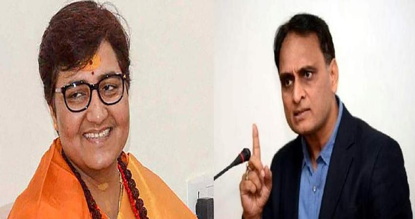 bjp rakesh sinha reply to congress attack on pragya thakur defence committee