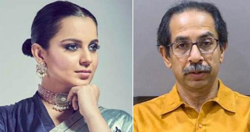 kangana rage on maharashtra government due to quarantine of sp vinay tiwari anjsnt