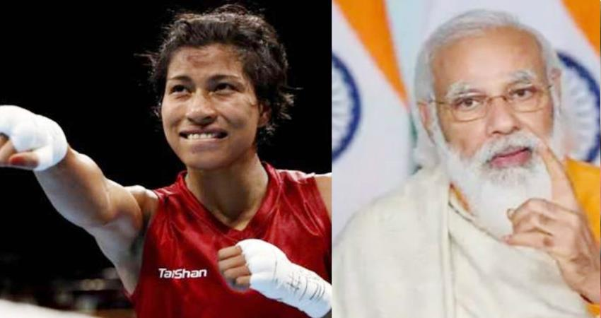 lovlina won bronze medal in boxing pm modi tweeted and congratulated the victory prshnt