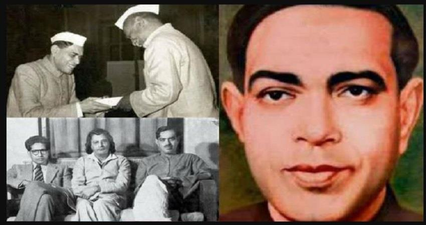ramdhari dinkar nehru favorite patriot nationalist knocking in the eyes of the british prsgnt