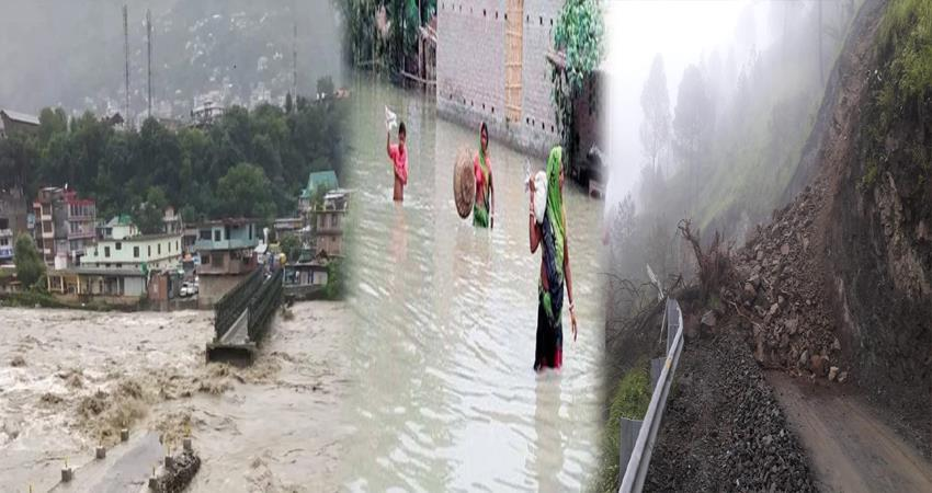 flood in many states of india due to heavy rain fall and climate change