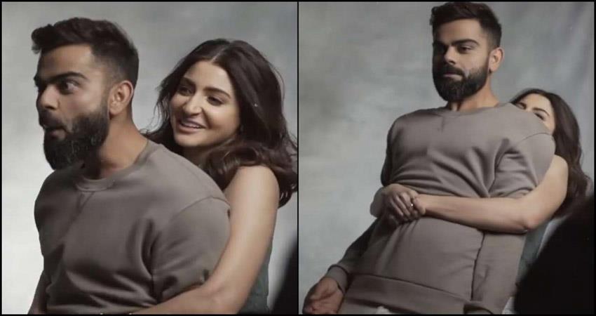 Anushka Sharma lifts Virat Kohli video went viral sosnnt