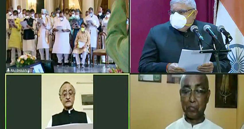 swearing in of cm mamata''''''''s cabinet today names of 43 mlas included in the list prshnt