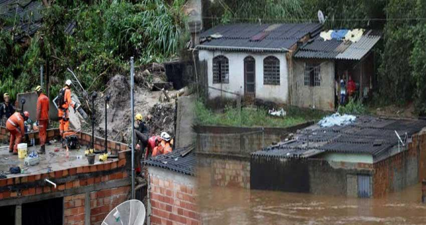 brazil 30 people dead due to heavy rain and storm