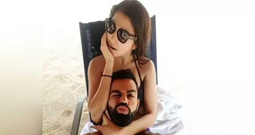 virat and anushka pics viral on social media