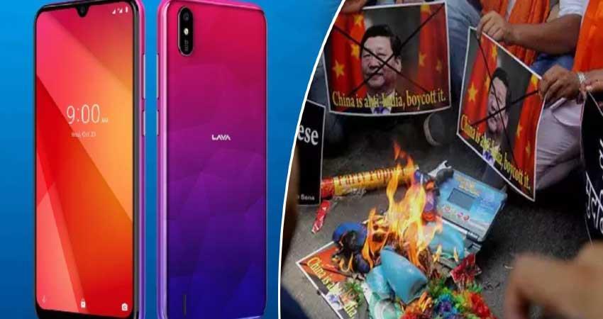 lava soon launch lava z66 smartphone chinese company boycoot anjsnt