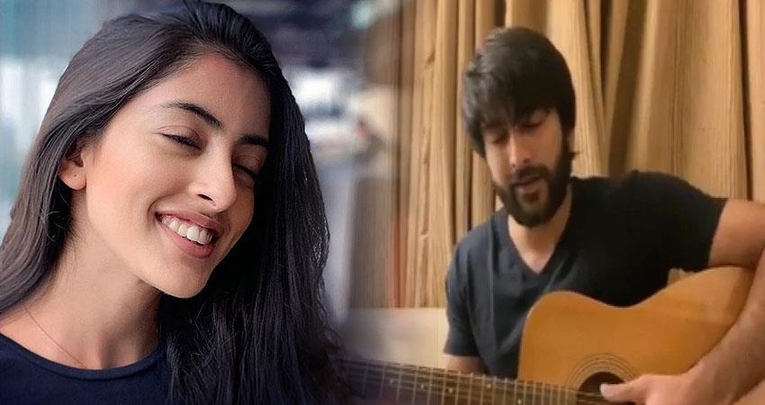 navya naveli comment on meezaan jaffery song anjnst