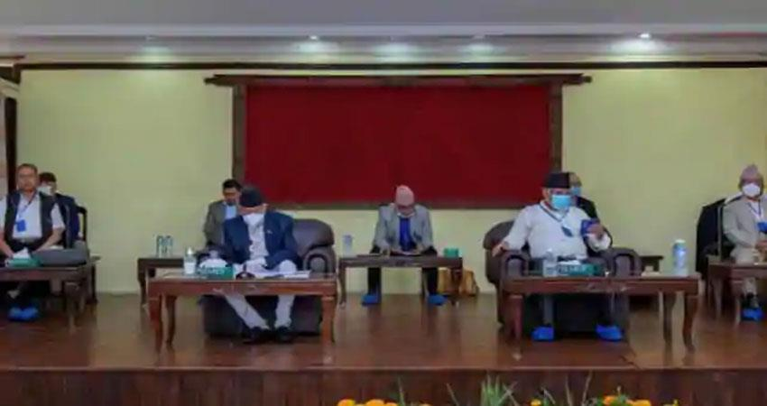 nepal-oli-who-was-isolated-in-the-party-is-upset-with-pms-work-albsnt