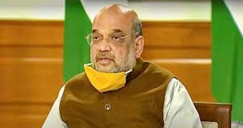 amit shah only indigenous goods will be available in capf  canteen