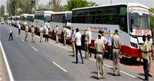 प्रवासियों के लिए बसों के प्रबंध पर कांग्रेस व यू.पी. सरकार में फिजूल का विवाद