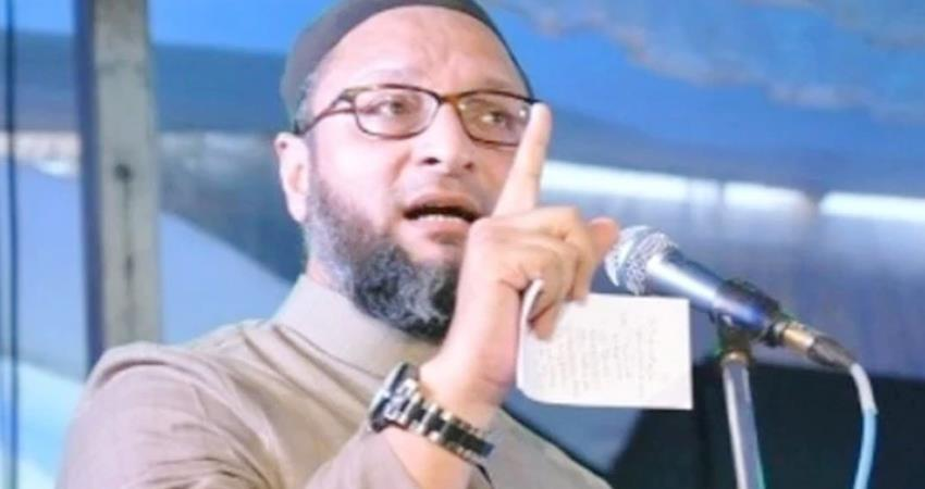 owaisi controversial statement on ayodhya mosque ''''''''namaz'''''''' to offer prayers prshnt