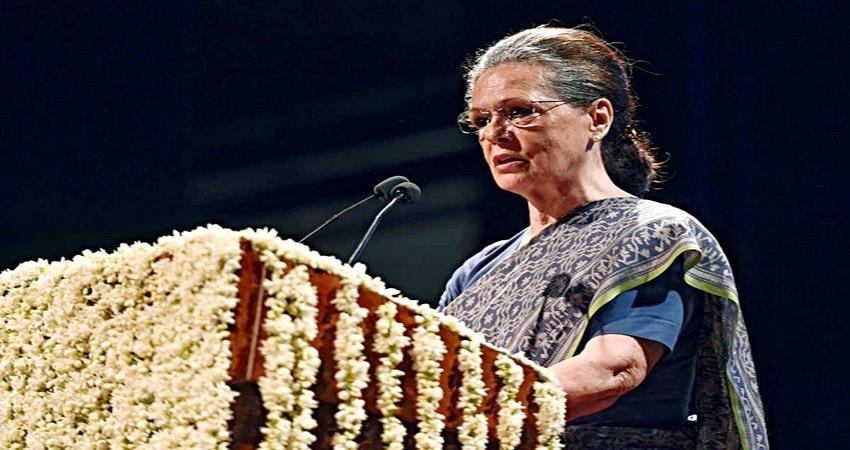 Sonia gandi attack on BJP vendetta politics Congress Party Meeting