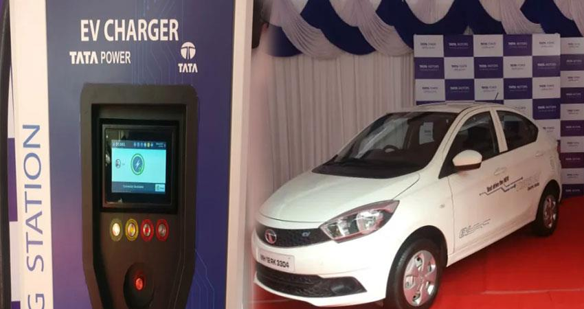 tata will launch their first electric car charging station in india