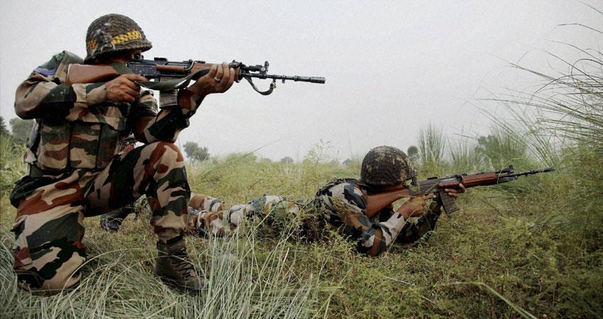 J&K: सेना व आतंकियों के बीच मुठभेड़ जारी, मेजर सहित 4 जवान शहीद - jk-an-infiltration-foiled-in-gurez-sector-one-army-officer-and-three-soldiers-lost-their-lives