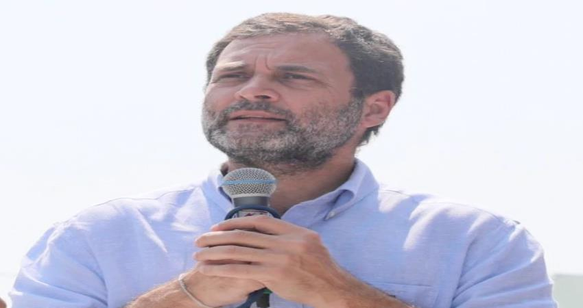rahul gandhi said the country should be ready for a war separate from the border pragnt
