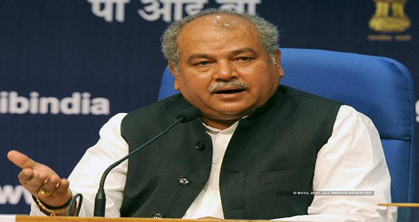 Most of the farmers & experts are in favour of farm laws Narendra Singh Tomar KMBSNT