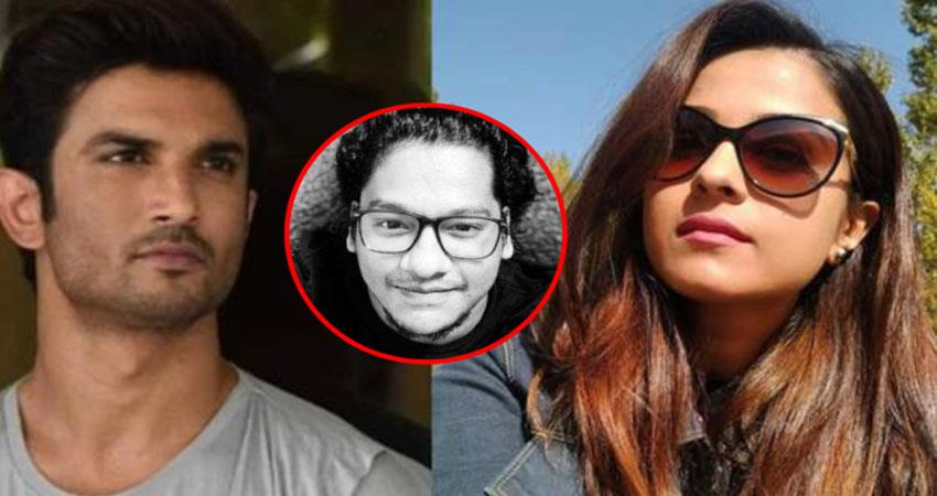 sushant was in danger of life after  disha salian death anjsnt