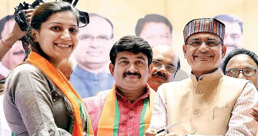 delhi assembly elections 2020 sapna chaudhary bjp election campaign