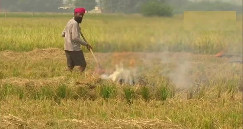 stubble burning started in punjab delhi air will polluted in october kmbsnt