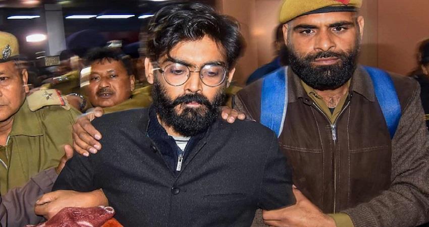 delhi Violence Case police filed charge sheet in court under uapa act sharjeel KMBSNT